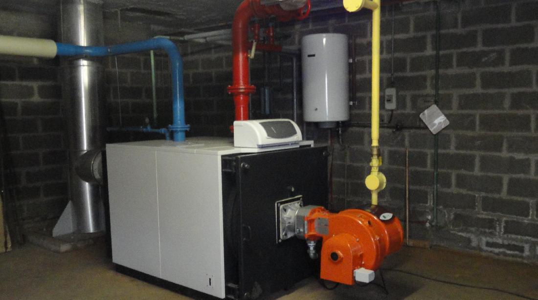 Installation chaudière industrielle